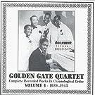 Golden Gate Jubilee Quartet: Complete Recorded Works in Chronological Order, Vol. 4 (1939-1943)