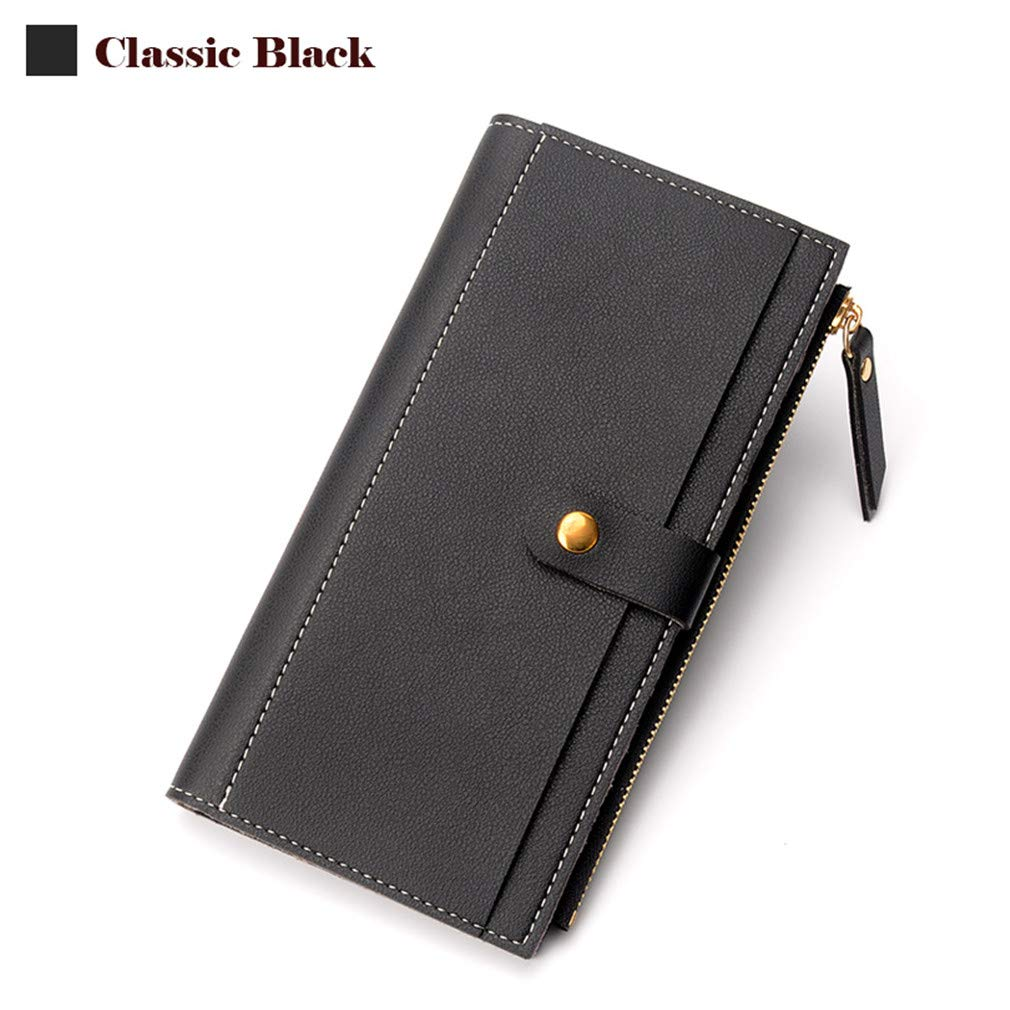 Fashion Women Wallet Elegant Female Purse Soft Leather Card Purse Long Phone Pocket Wallets