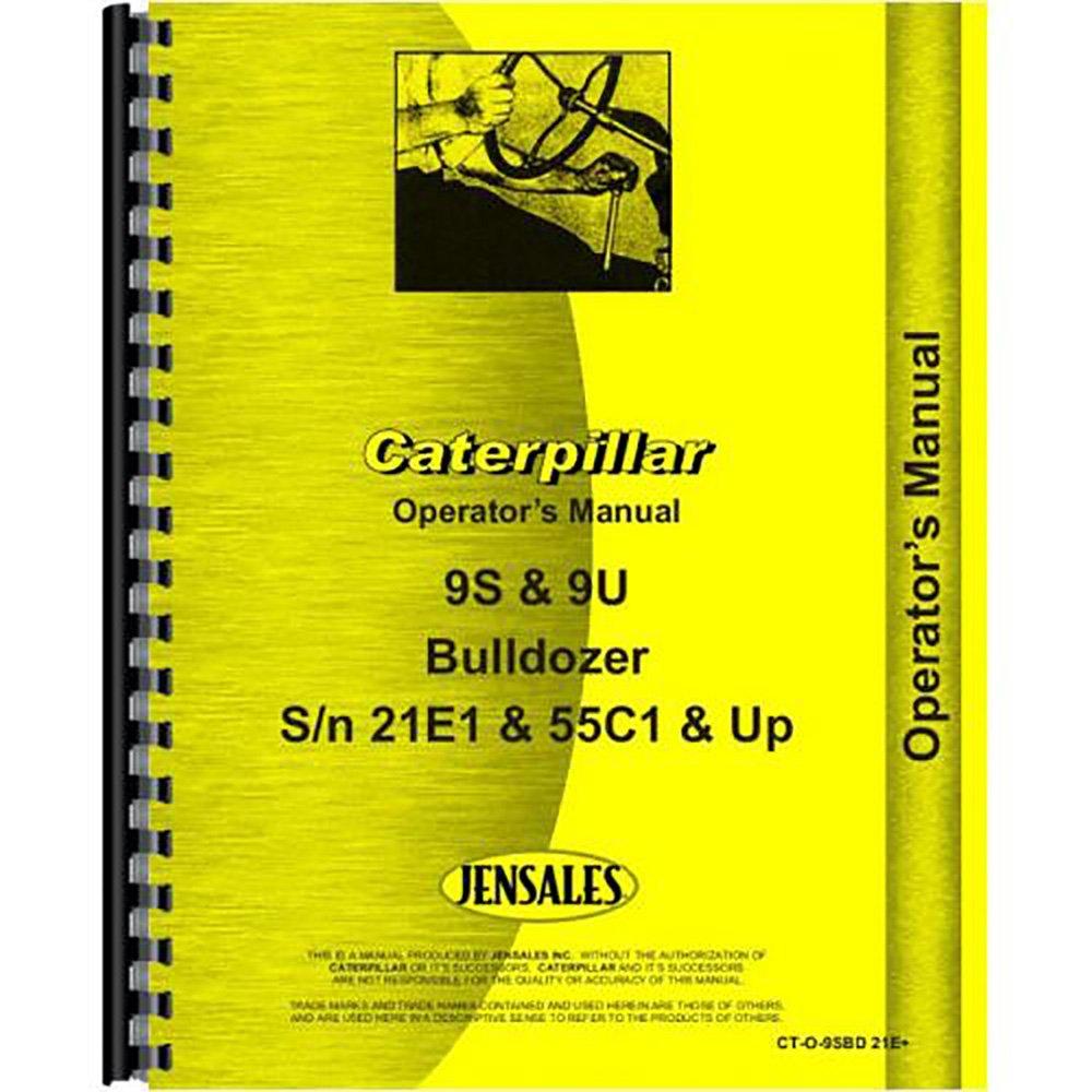 Amazon.com: For Caterpillar Bulldozer 9S Attachment Operators Manual (New):  Industrial & Scientific
