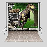 FUERMOR Customized Photo Background 5X7FT Dinosaur Photography Backdrops Props Photo Studio A713