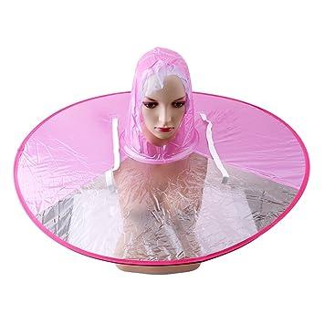 unke Creative UFO impermeable manos libres paraguas sombrero Headwear Cap impermeable al aire libre pesca Golf