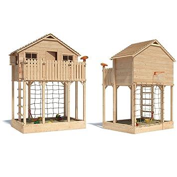 Wundervoll Colossimo Spielturm Kletterturm Baumhaus Rutsche Schaukeln (ohne  GZ86