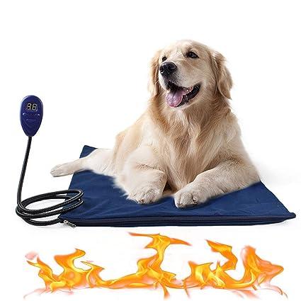 ACLBB Calentador Térmico para Mascotas, Gato Eléctrico, Calentador para Perros, Colchón, Control