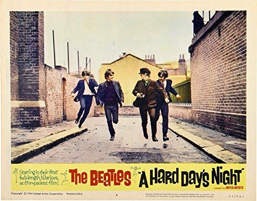 "The Beatles A Hard Days Night Lobby Card Movie Poster Replica 11 X 14"" Photo Print"