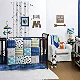 Woodland Dreams 4 Piece Baby Crib Bedding Set by The Peanut Shell
