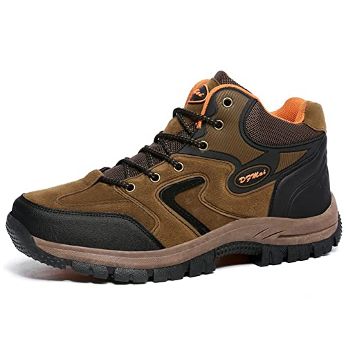 0f483b44c6a Amazon.com | GOMNEAR Men Hiking Boots Trekking Shoes High Top Non ...
