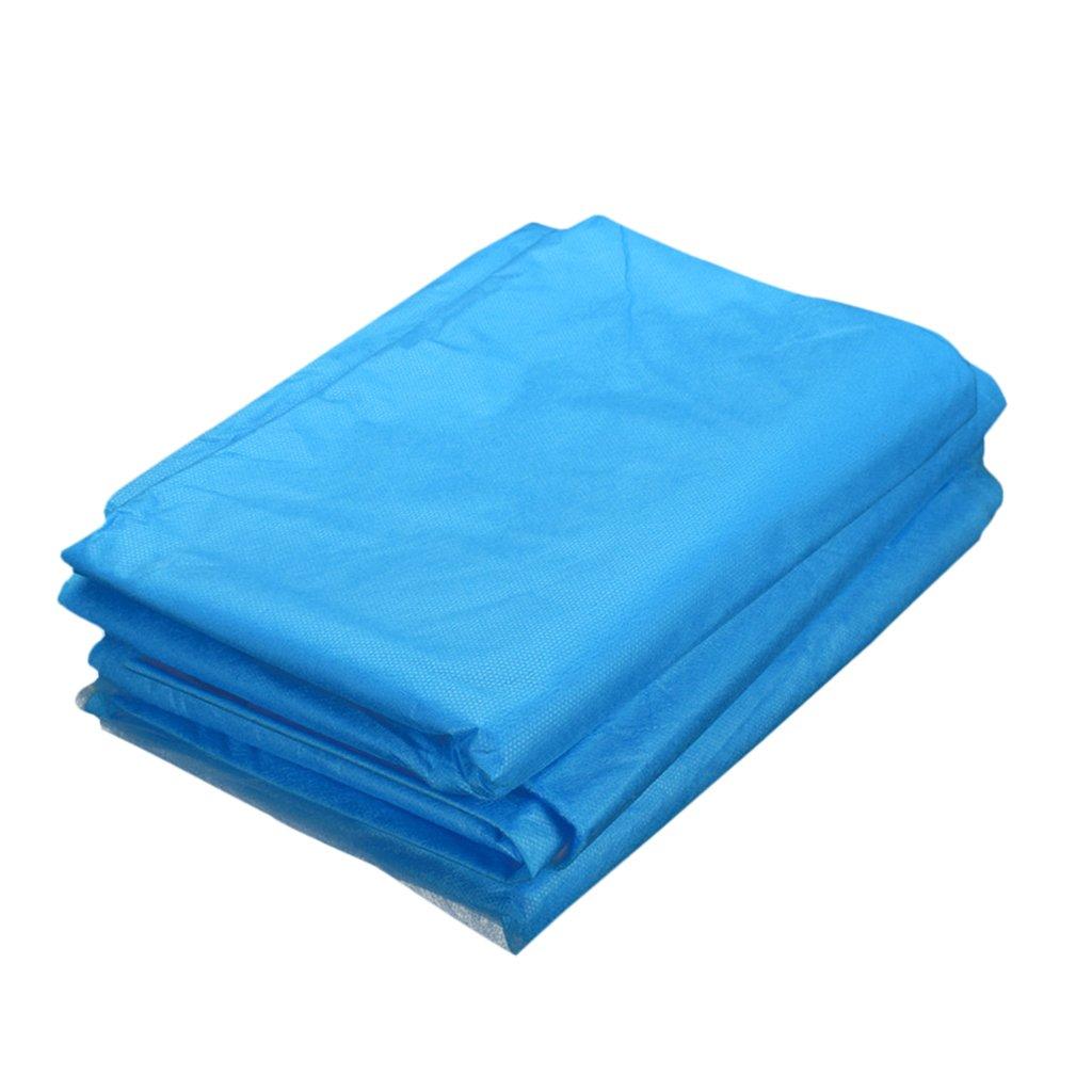 MagiDeal 10Pcs Jetable Draps de Lit Imperméable Non-tissé Couverture de Salon de Beauté pour Massage Tatouage de Salon de Beauté Treatment Table (Bleu) 175 x 70cm - Bleu, 175 x 70 cm non-brand