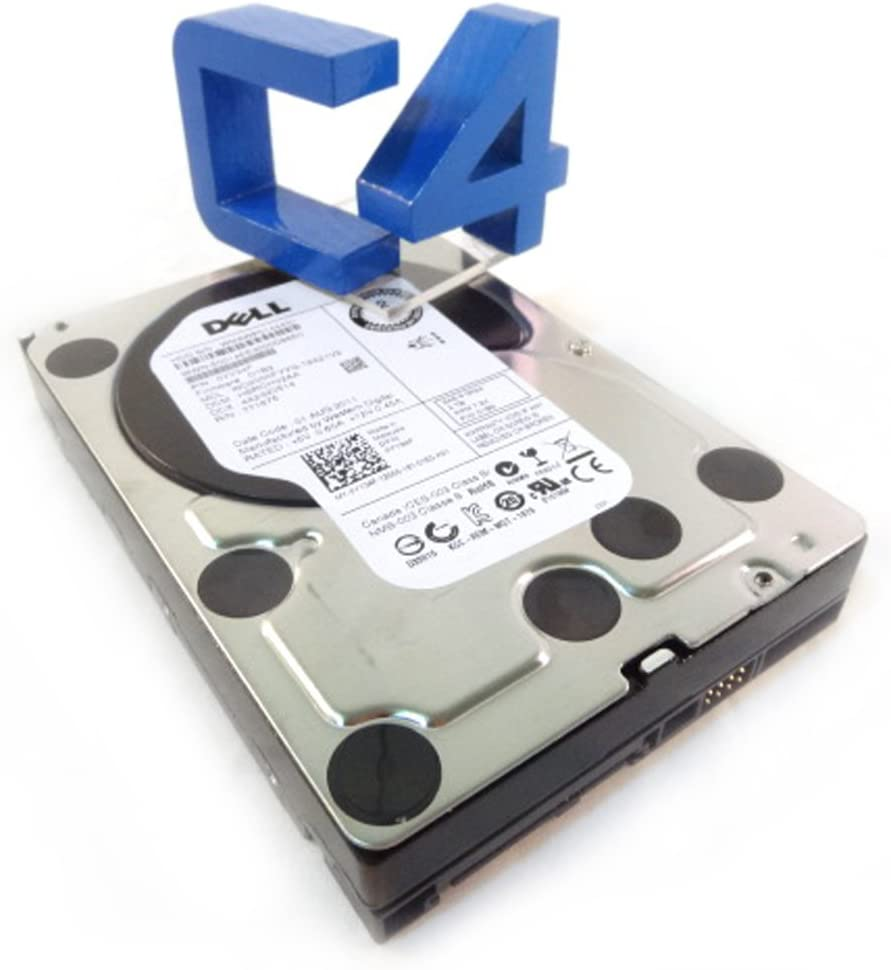 Dell W347K 600 GB 3.5in HDD - New Bulk Zero Hours 2016 Manuf - No Tray
