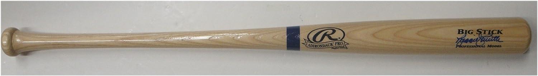 Reggie Smith Hand Signed Autographed Major League Baseball Bat Pro Dodger Blue