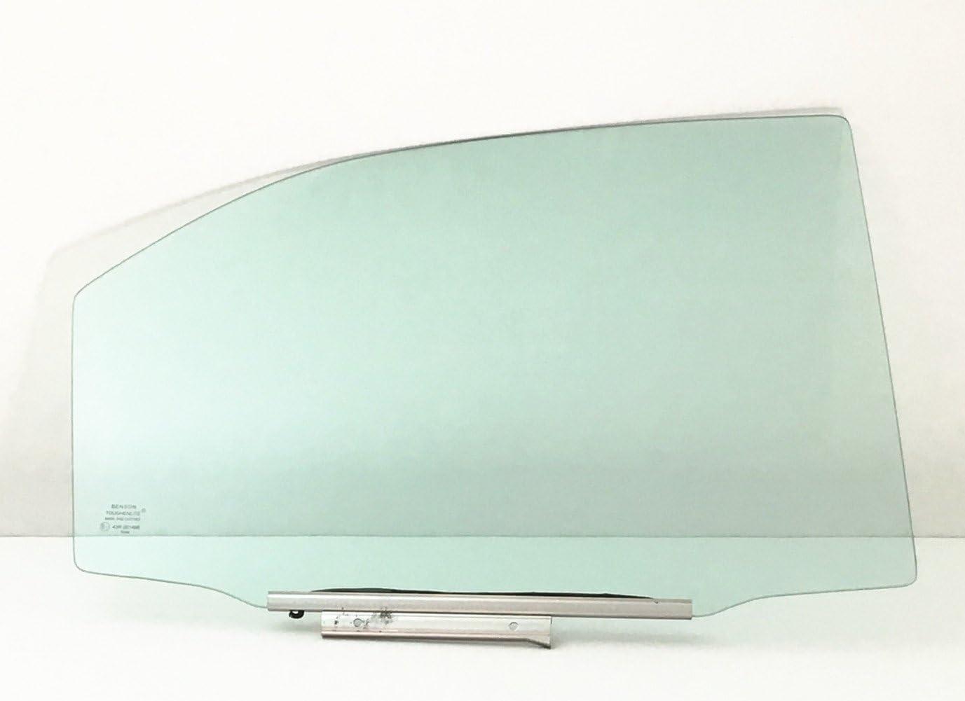 NAGD Passenger//Right Side Rear Door Window Replacement Glass for 1994-1997 Honda Accord 4 Door Sedan /& Wagon