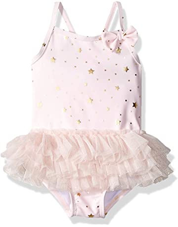 fa5c91c129b89 Little Me Children's Apparel Baby and Toddler Girls UPF 50+ One Piece  Swimsuit
