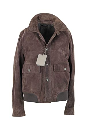 0e672d5994697c CL - Tom Ford Lambskin Leather Suede Jacket Coat Size 54   44R U.S.  Outerwear