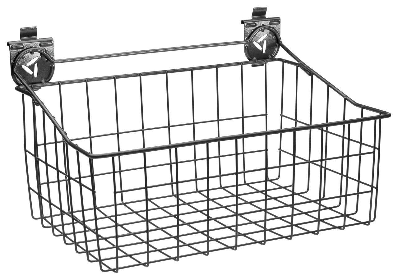 Gladiator GarageWorks GAWA18BKRH 18-Inch Wire Basket