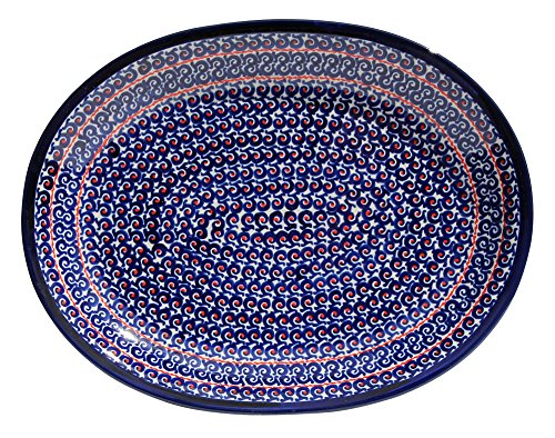 Polish Pottery Large Serving Platter Zaklady Ceramiczne Boleslawiec 1007-1126a by Polish Pottery Market (Image #2)