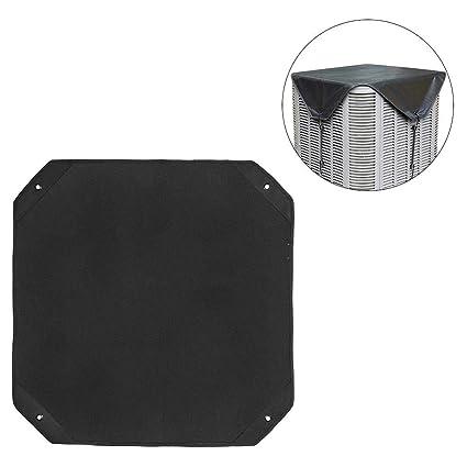 Jannyshop Aire Acondicionado Exteriores Protector Impermeable Anti-Polvo Cubierta de Aire Acondicionado en Tela Oxford