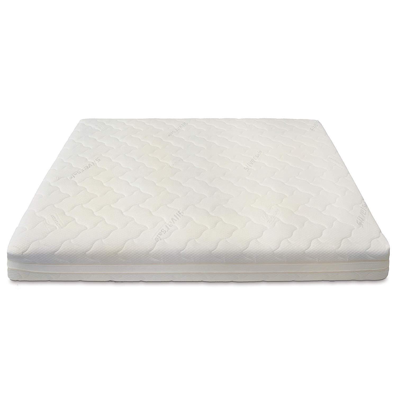 Materasso Matrimoniale Molle Insacchettate 700 Molle Baldiflex Cuscino//i Saponetta Silver Safe 160x190cm