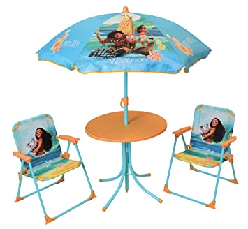 Gut gemocht Unbekannt Fun House 713003 Disney Vaiana Kinder-Gartenmöbel-Set DB42