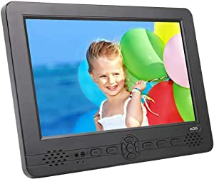 """AOG Televisión Portátil TDT HD 10.1"""" DVB-T & DVB-T2 Pantalla LCD UHD Ready. Grabador PVR y Reproductor Multimedia Retransmisión Digital & Analógica.: Amazon.es: Electrónica"""