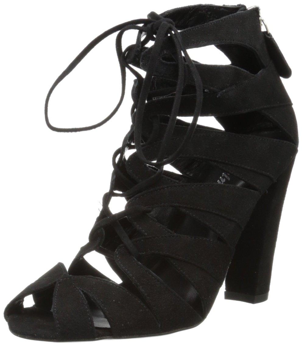 Delman Women's Darci Dress Pump,Black,8.5 M US