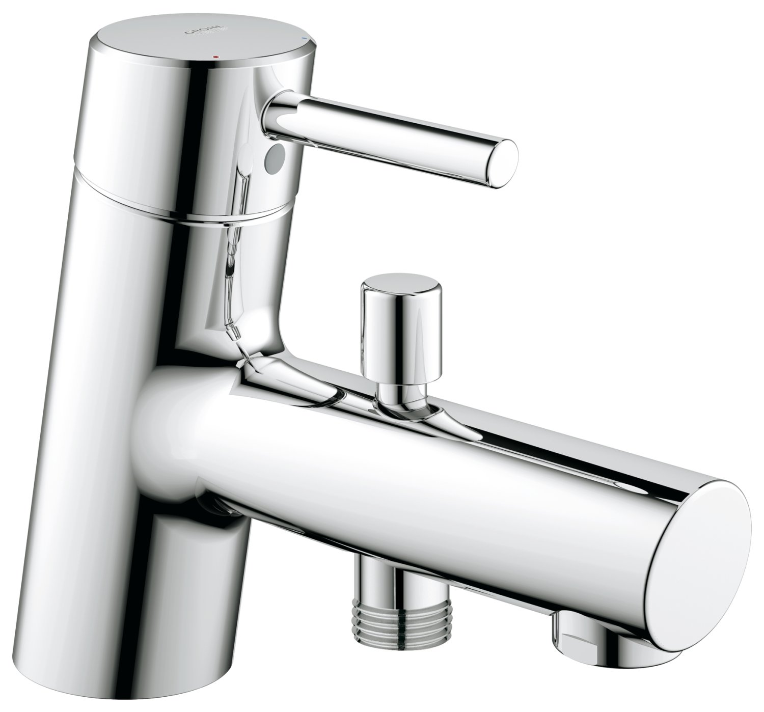 GROHE 32701001 Concetto Single-Lever Bath & Shower Mixer: Amazon.co ...