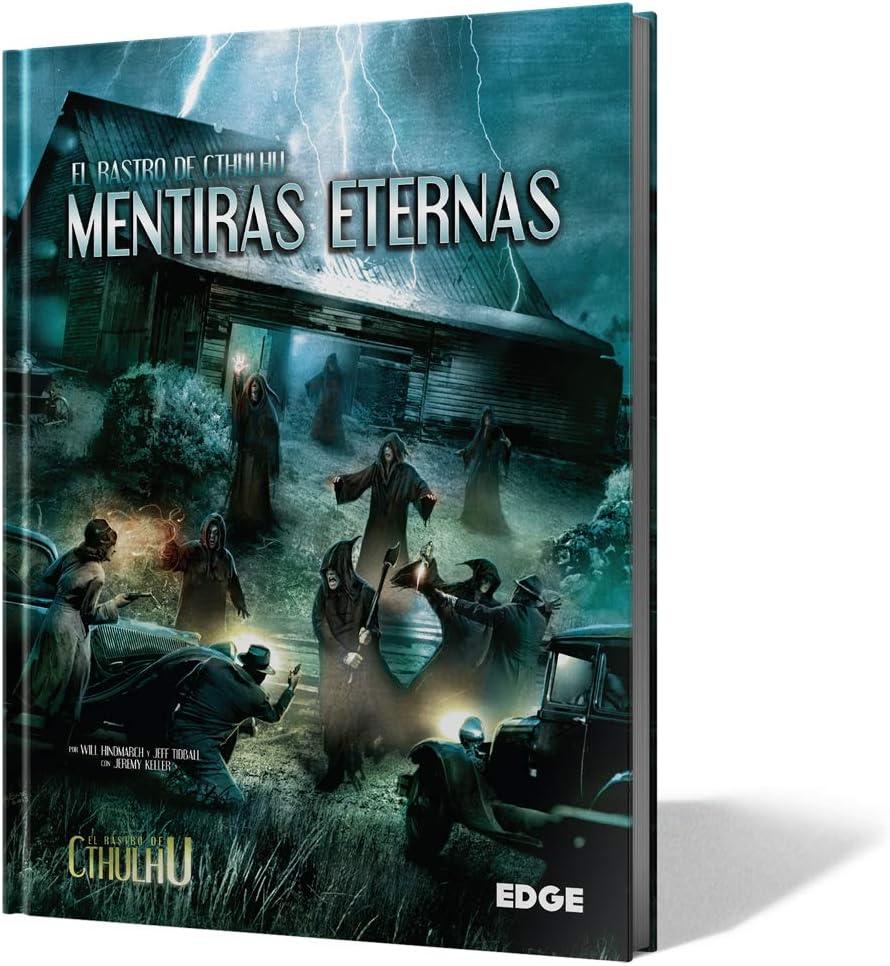 Edge Entertainment- Mentiras eternas: Libro de campaña - español, Color (EEPPTC10A): Amazon.es: Juguetes y juegos