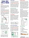 Excel 2013 Laminated Tip Card: Tips & Tricks from MrExcel