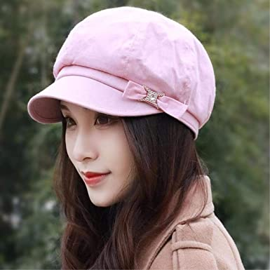 83febe065 Chuiqingnet Hat, Woman, Spring, Summer, Day, Beret, Fashion Cap, Old ...