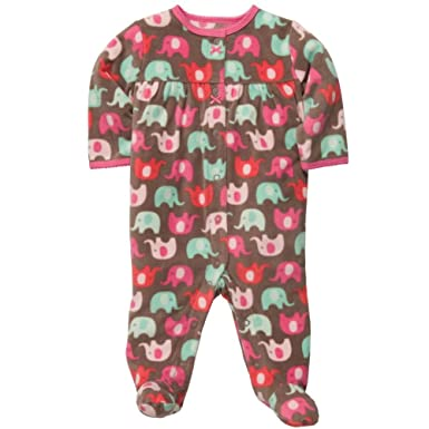 a3e2b7091 Amazon.com  Carter s Infant   Toddler Girls Pink Blue Elephant ...