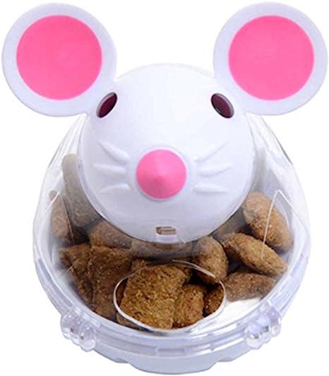Gato Tumbler juguete dispensador de alimentos comida bola IQ ...