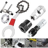 Catalpa Blume 6-in-1 tool voor fiets, cranktrekker, trapaslichter, inbussleutel, casseteafnemer, kettingpons