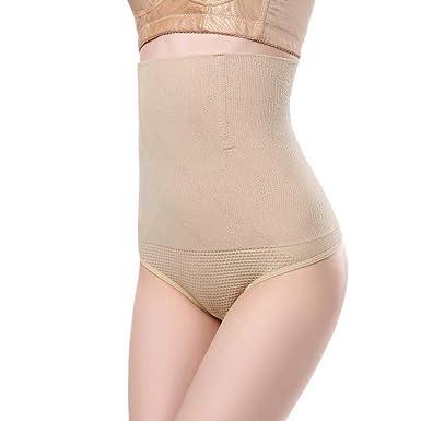 752e23c1b1a2 AOBRITON Women High Waist Butt Lifter Body Shaper Underwear Waist Trainer Tummy  Control Panties Bum Lifter at Amazon Women's Clothing store: