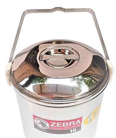 Amazon.com: Zebra Tailandia Mejorado 16 cm bucle mango Pot ...
