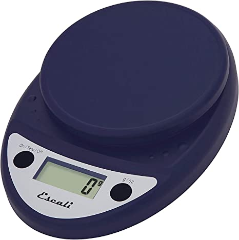 Amazon Com Escali Primo P115nb Precision Kitchen Food Scale For Baking And Cooking Lightweight And Durable Design Lcd Digital Display Royal Blue Digital Kitchen Scales Kitchen Dining