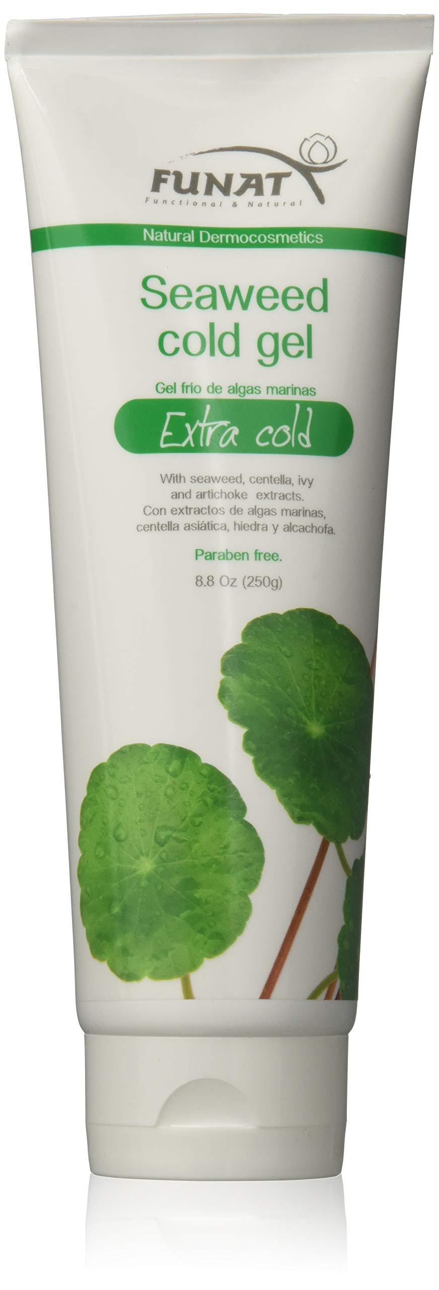 Funat Anti-Cellulite Slimming Cold Body Scrub Gel Reductor Quema Grasa 250g 8.8 Oz