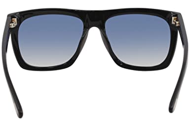 8909742872a94 Tom Ford FT0513 01W Shiny Black Morgan Square Sunglasses Lens Category 2  Size 5 at Amazon Men s Clothing store