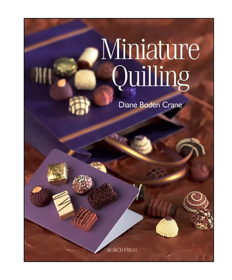 Miniature Quilling Craft Book - Paper Craft by Faerynicethings