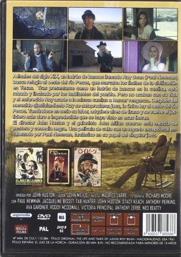 THE LIFE AND TIMES OF JUDGE ROY BEAN (El juez de la horca) All Regions - PAL - Paul Newman