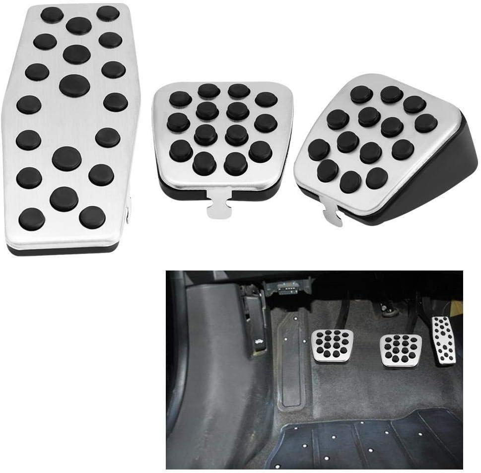 Conlense Car Clutch Brake Foot Pedals Cover Treadle Non-Slip for C-h-e-v-r-o-l-e-t Cruz V-a-u-x-h-a-l-l