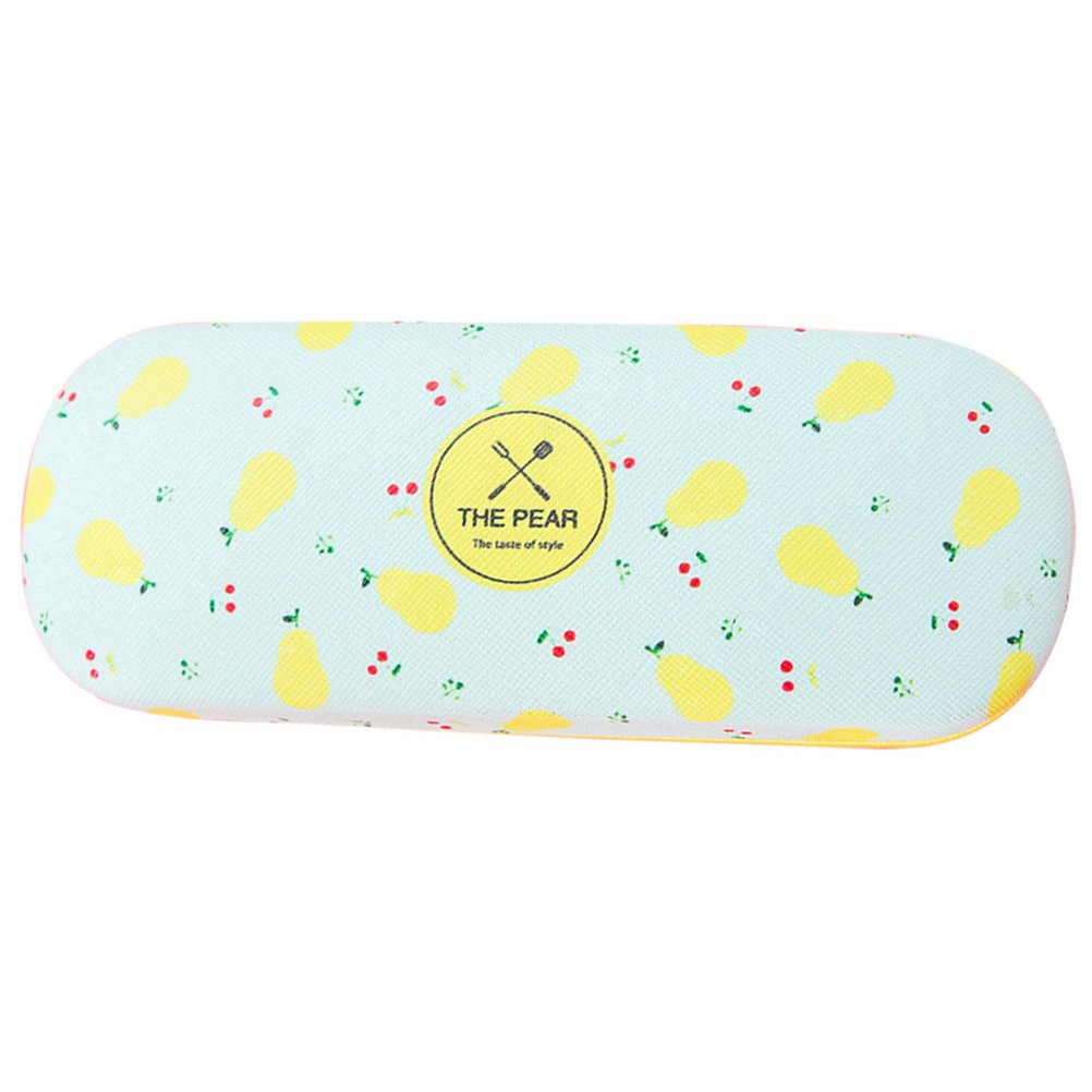 Profusion Circle Portable Eye Glasses Sunglasses Case Holder Hard Storage Box for Girls Students
