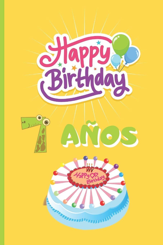 Amazon.com: 7 AÑOS: FELICIDADES! REGALO DE CUMPLEAÑOS ...