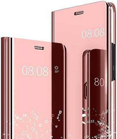 Funda Huawei P10 Espejo PC Carcasa Flip 360° Protectora Ultra Delgado Choque Absorción Anti-Arañazos Huawei P10 Lite Case para Huawei P10 Plus Caso Estuche Cover: Amazon.es: Ropa y accesorios