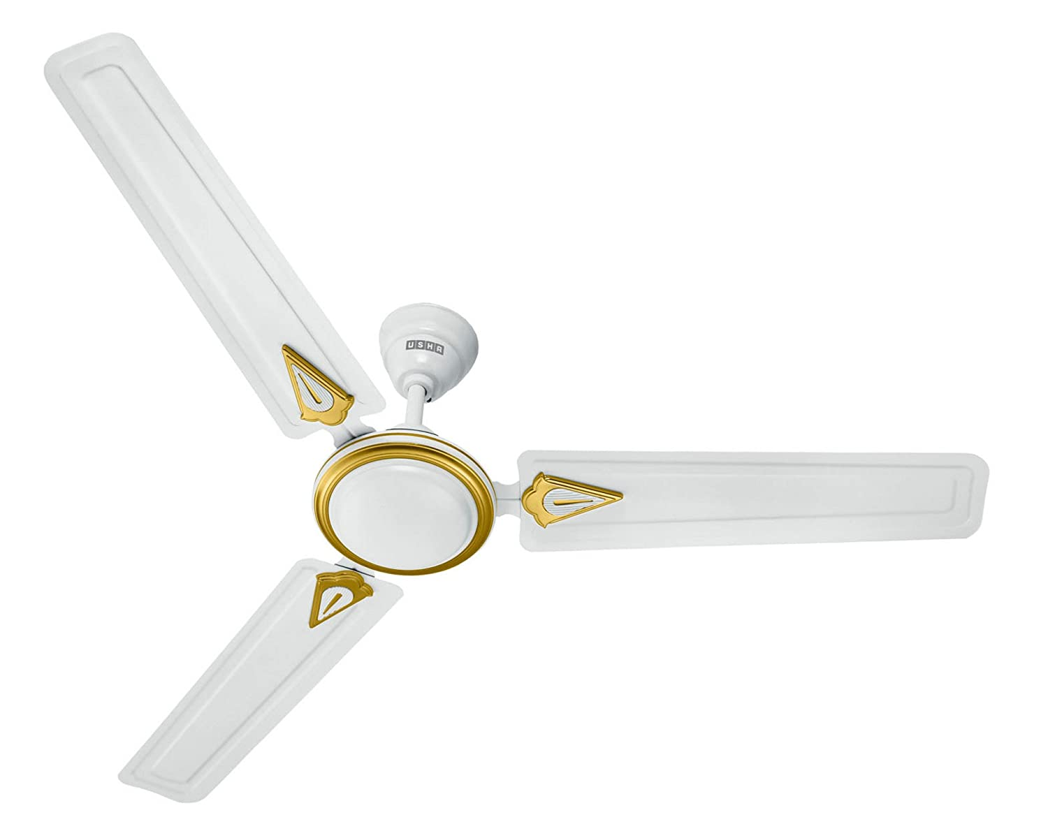 Buy usha new trump 1200mm ceiling fan without regulator white buy usha new trump 1200mm ceiling fan without regulator white online at low prices in india amazon aloadofball Image collections