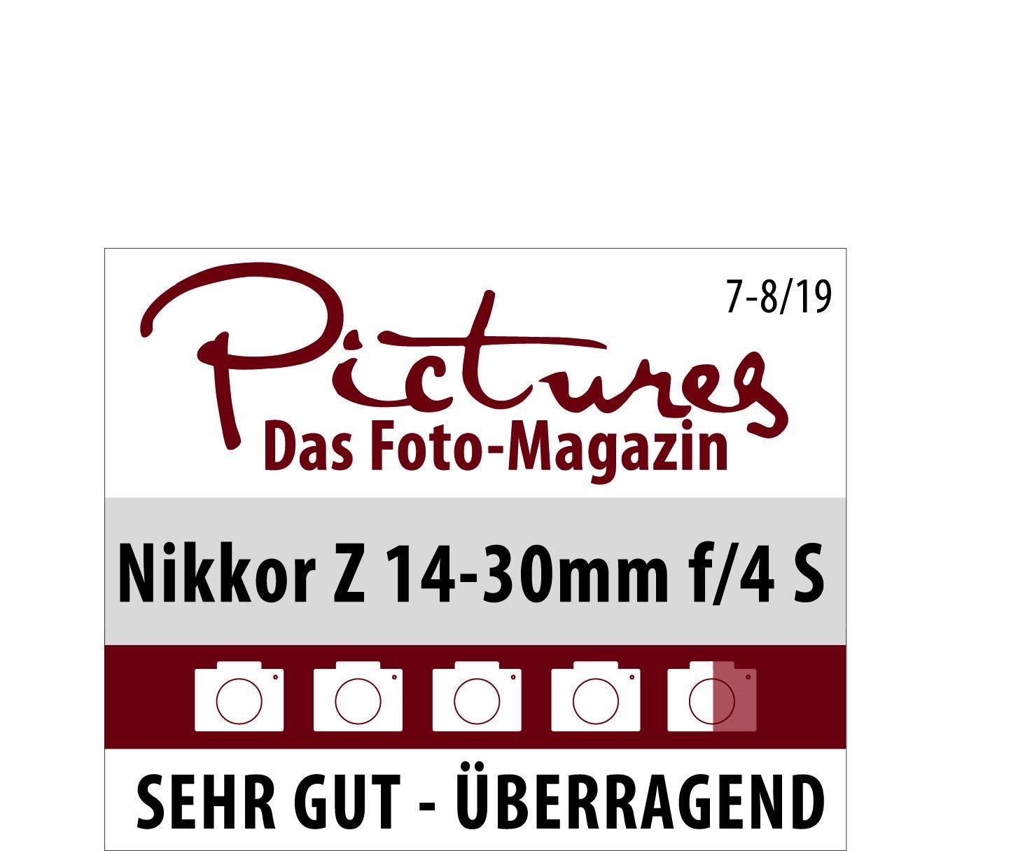 NIKKOR Z 14-30mm f//4 S