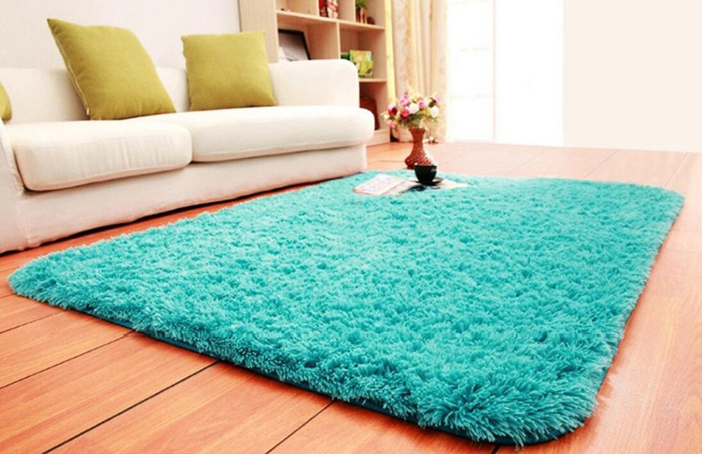 Amazon ACTCUT Super Soft Indoor Modern Shag Area Silky Smooth RugsFluffy Anti Skid Shaggy Rug Dining Living Room Carpet Comfy Bedroom Floor 4