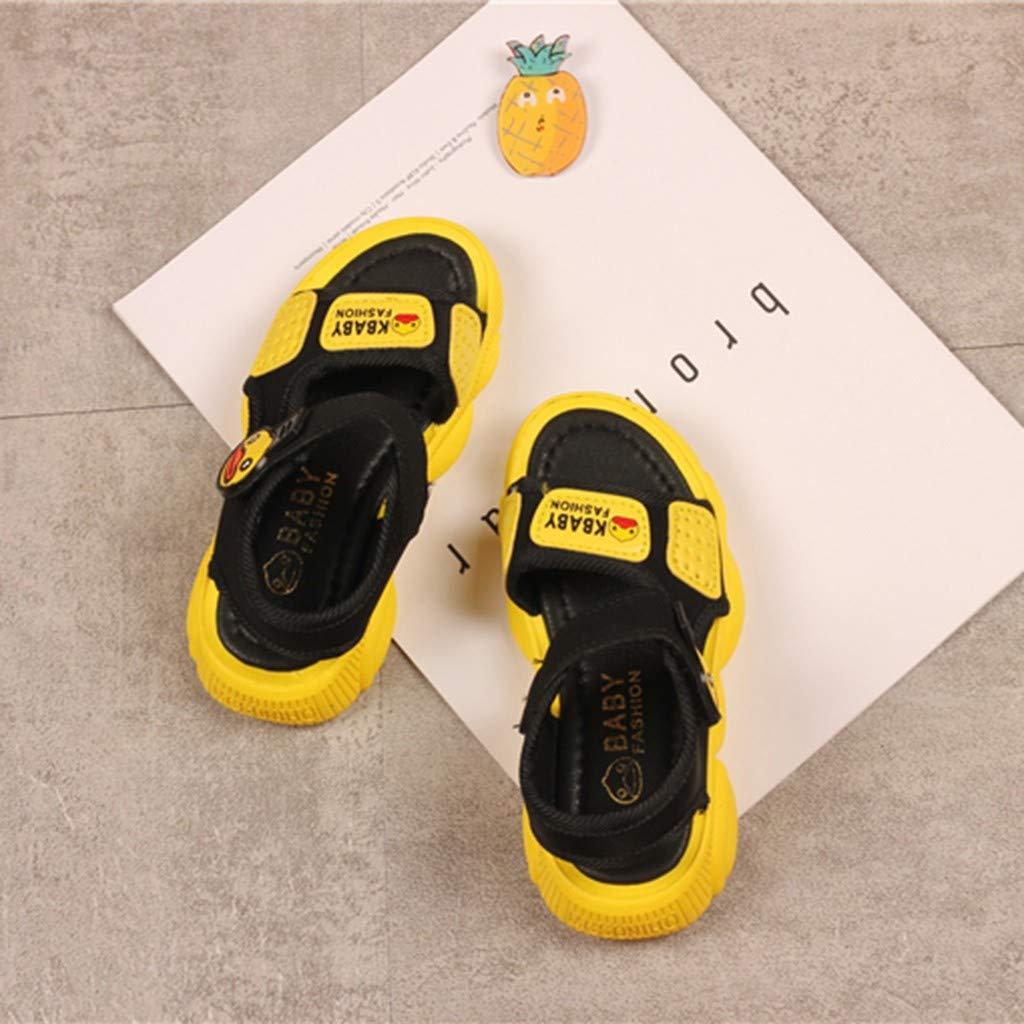 Ariestorm Baby Girls Summer Casual Shoes Cartoon Duck Beach Sport Sandals