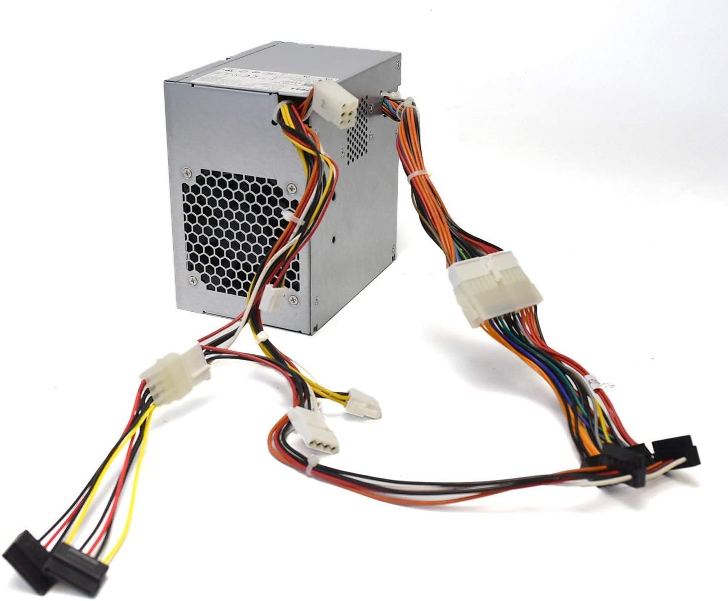 New K345R K346R M177R J775R Genuine OEM Dell 305 Watt Power supply Fits Optiplex 980 Tower MT PC Computer 24-Pin Mini ATX 4-Pin Floppy SATA F305P-00 H305P-02 L305P-03 AC305AM-00 W/ Adapters