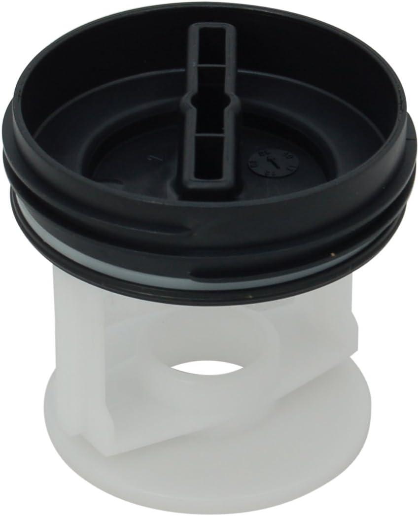 Bosch Siemens lavadora bomba de desagüe Filtro. Parte original número 172339