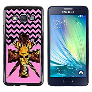 Dragon Case - FOR Samsung Galaxy A3 - Learning is a gift - Caja protectora de pl??stico duro de la cubierta Dise?¡Ào Slim Fit