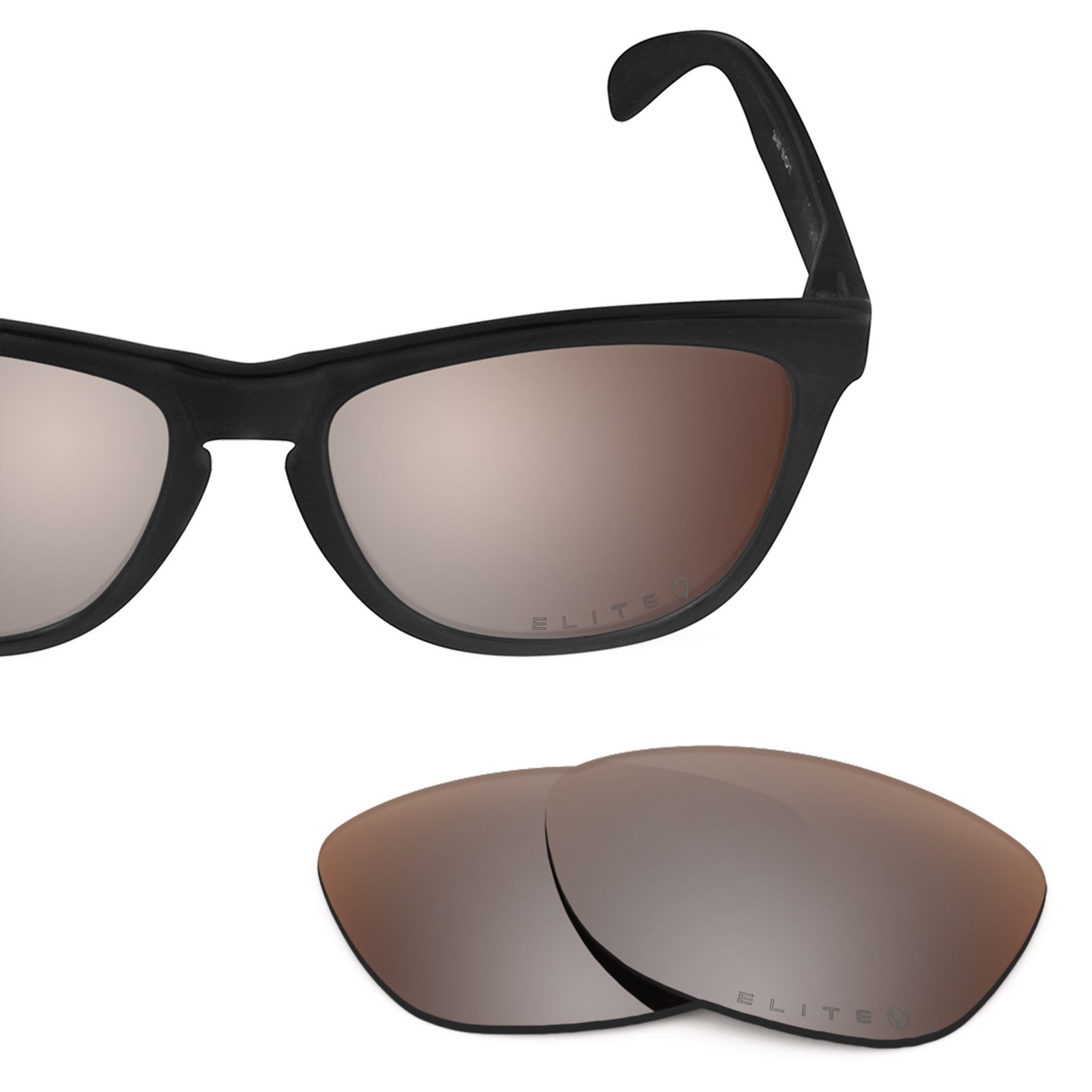 Revant Polarized Replacement Lenses for Oakley Frogskins Elite Flash Bronze MirrorShield by Revant