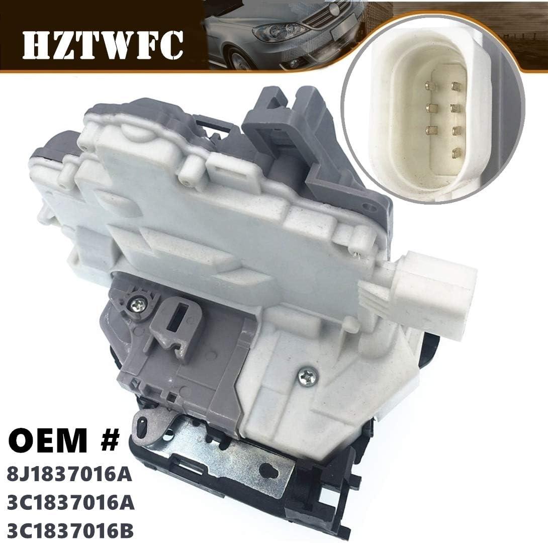 HZTWFC Actionneur de loquet de porte central avant droit OEM # 8J1837016A 3C1837016A 3C1837016B